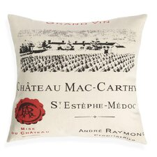 Chateau Mac-Carthy Pillow
