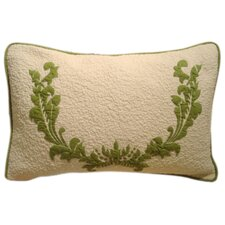 Damask Cotton Bolster Pillow