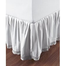 Bella Cotton Crochet Bed Skirt