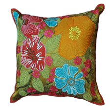 Sweet William Polyester Decorative Pillow