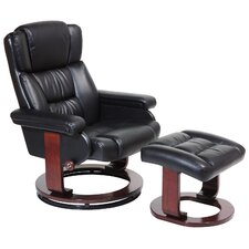 Deluxe Recliner and Ottoman