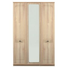 Florence 3 Door Centre Mirror Wardrobe