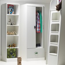 MyPod 2 Door / 1 Drawer Combi Wardrobe