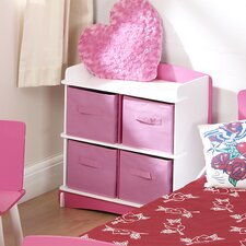 <strong>Kidsaw</strong> Blush Four Drawer Storage