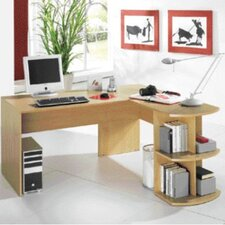 <strong>Bush Europe</strong> Computer Desk with Modesty Panel