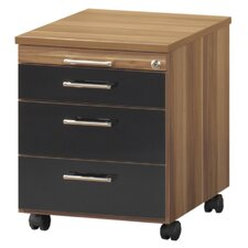 Mexico 3 Drawers Mobile Underdesk Pedestal