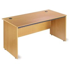 Maestro Desk Shell with Straight Panel