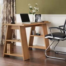 Writing Desk with Storage Shelf