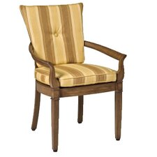 <strong>Woodard Landgrave</strong> Vienna Dining Arm Chair with Cushions