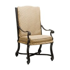 <strong>Woodard Landgrave</strong> Villa Dining Arm Chair with Cushion