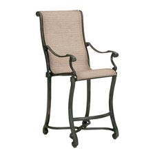 Villa Sling Stationary Bar Stool