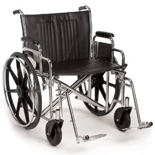 Breezy EC 2000HD Heavy-Duty and Extra Wide Bariatric Wheelchair
