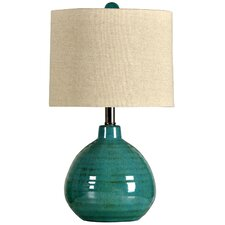 """21.5"""" Table Lamp with Drum shade"""