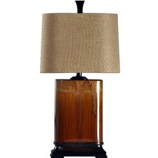 """Cinnaban 31.5"""" H Table Lamp with Drum Shade"""