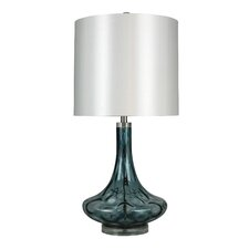 """33"""" H Table Lamp with Round Shade"""