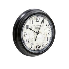 Cafe Du Phare Wall Clock
