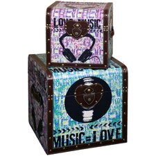 Music Trunk (Set of 2)