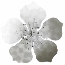 Flower Metal Wall Plaque