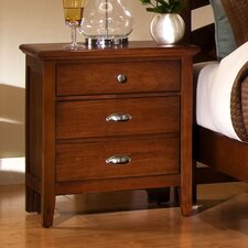 <strong>Vaughan-Bassett</strong> Twilight 2 Drawer Nightstand