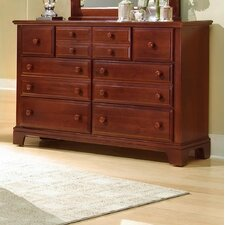 <strong>Vaughan-Bassett</strong> Hamilton Franklin Triple 7 Drawer Dresser