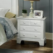 Hamilton Franklin 3 Drawer Nightstand
