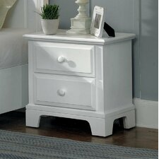 <strong>Vaughan-Bassett</strong> Hamilton Franklin 2 Drawer Nightstand