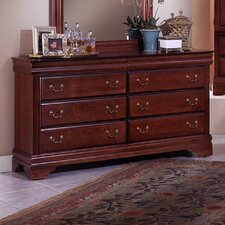 Barnburner Thirteen 6 Drawer Dresser
