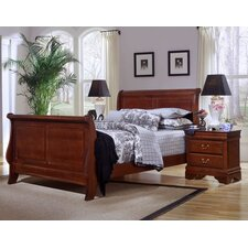 <strong>Vaughan-Bassett</strong> Barnburner Thirteen Sleigh Bedroom Collection