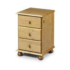 Woodward 3 Drawer Bedside Table