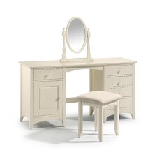 Atlanta Twin Pedestal Dressing Table Set