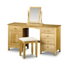 Stavely Twin Pedestal Dressing Table Set