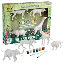 Wild Republic Toy Paint And Play African
