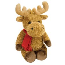 Winter Wonderland Moose Baby Stuffed Animal