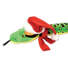 Winter Wonderland Anaconda Stuffed Animal