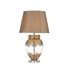 Taj Table Lamp in French Gold