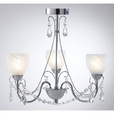 Crawford 3 Light Chandelier