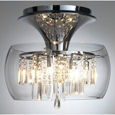 Loco 6 Light Semi-Flush Ceiling Light