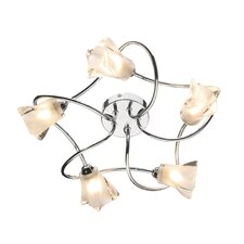 Cicero 5 Light Semi Flush Light