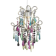Jodi 1 Light Crystal Chandelier