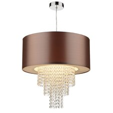 Lopez 1 Light Drum Pendant