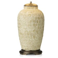 Zuccaro Medium Table Lamp Base in Antique Brass