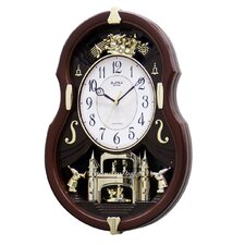 Viola Entertainer Melody Wall Clock