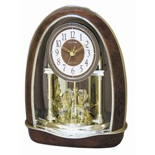 <strong>Rhythm U.S.A Inc</strong> Classic Nightingale Melody Clock