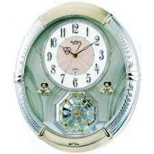 <strong>Rhythm U.S.A Inc</strong> Amazing Carina Melody Wall Clock