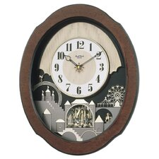 <strong>Rhythm U.S.A Inc</strong> Timecracker Legend Wall Clock
