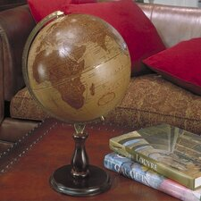 Leather Expedition World Globe