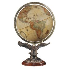 Freedom Antique World Globe