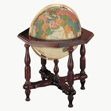 Statesman Antique World Globe