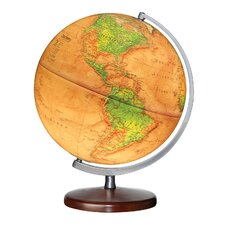 Discovery Expedition Montour Illuminated World Globe
