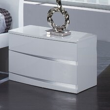 <strong>Global Furniture USA</strong> Aria 2 Drawer Nightstand